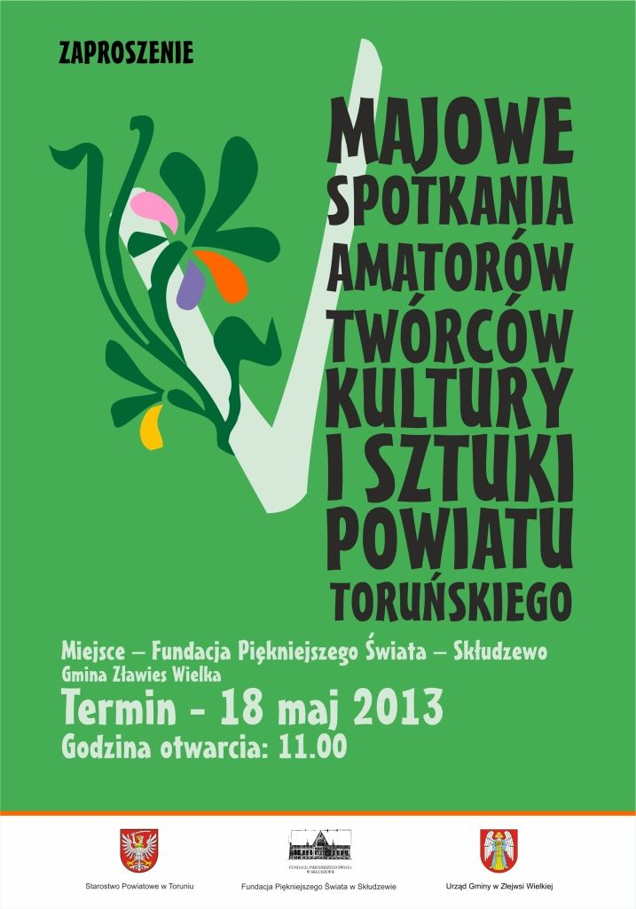 plakat starostwo zaproszenie