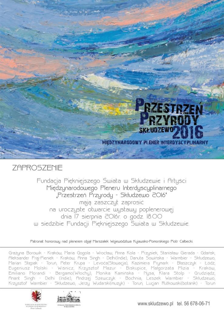 zaproszenie na wystawę 2016